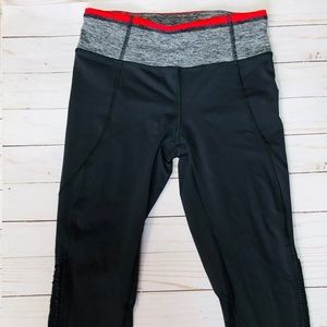 Lululemon Wunder Under Cropped Leggings